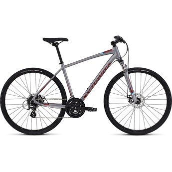 Specialized Crosstrail Disc Sterling/Candy Red/Cyan