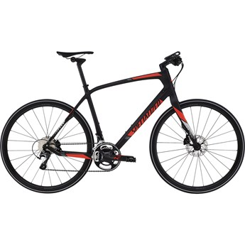 Specialized Sirrus Pro Carbon Carbon/Rocket Red/Silver