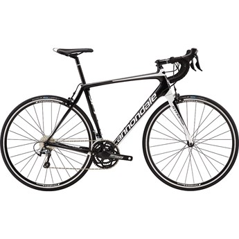 Cannondale Synapse Carbon Tiagra Jet Black with Magnesium White and Nearly Black, Gloss