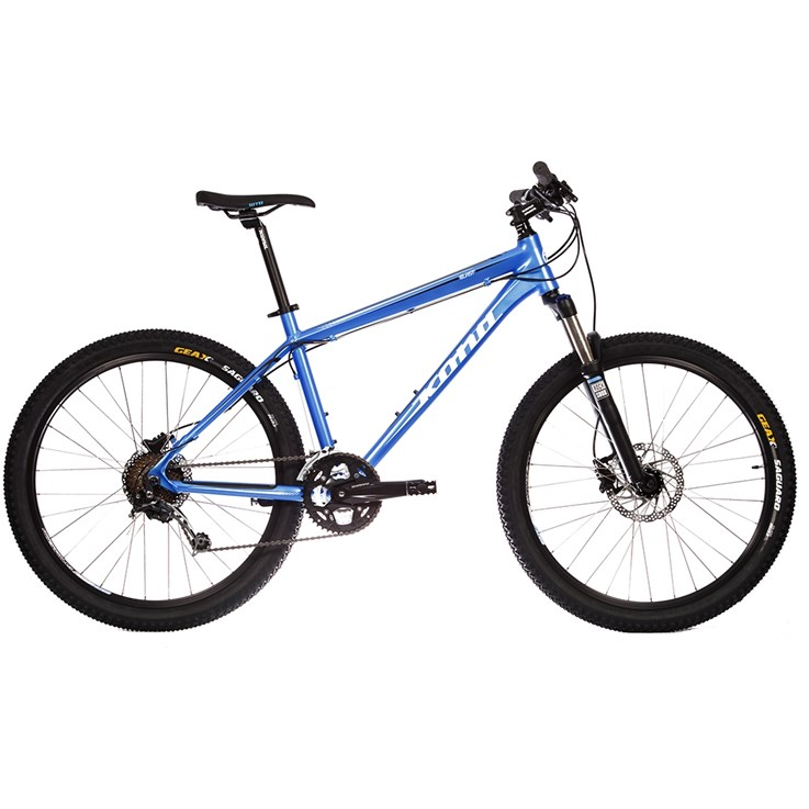 Kona Blast Matt Blue with White and Black