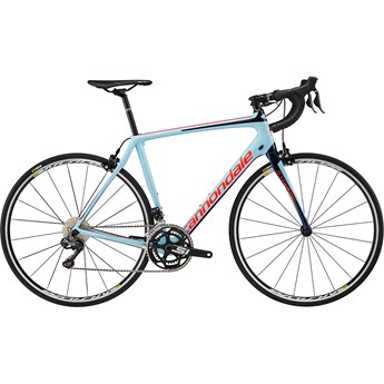 Cannondale Synapse Carbon Ultegra Di2 Atmosphere Blue with Acid Red and Midnight Blue, Gloss