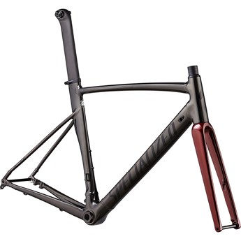 Specialized Allez Sprint Disc Frameset Polished Chrome Black/Black/Crimson Metallic