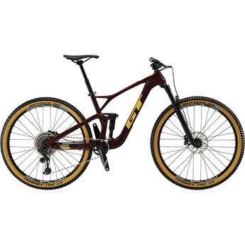 GT Sensor Carbon Expert Wine Red with Gumwall and Glacier Mint 2019