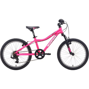 Kona Makena White/Black On Matt Highlighter Pink