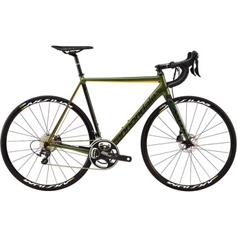 Cannondale CAAD12 Disc Ultegra Vulcan Green with Jet Black and Acid Orange, Matte
