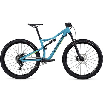 Specialized Camber Women's FSR Comp 650B Turquoise/Hyper Green/Tarmac Black