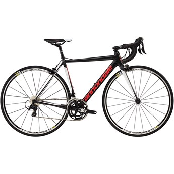 Cannondale CAAD12 Womens 105 Nearly Black with Acid Strawberry and Cashmere, Satin