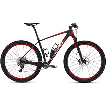Specialized S-Works Stumpjumper 29 World Cup Satin Gloss Carbon/Flo Red/White