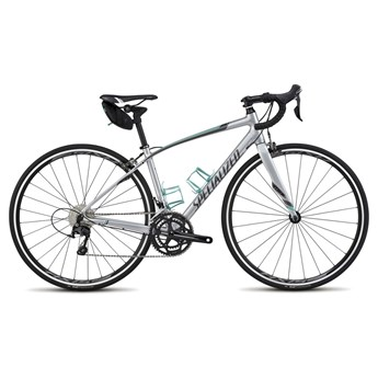 Specialized Dolce Comp EQ Silver/Charcoal/Em Green/White