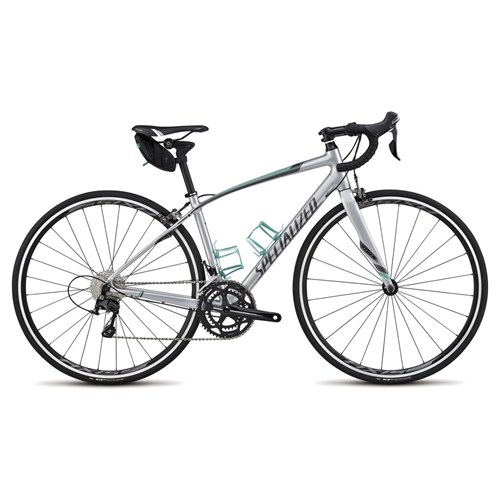 Specialized Dolce Comp EQ Silver/Charcoal/Em Green/White 2015