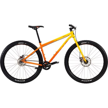 Kona Unit Gloss Yellow-Orange Fade with Orange Decals