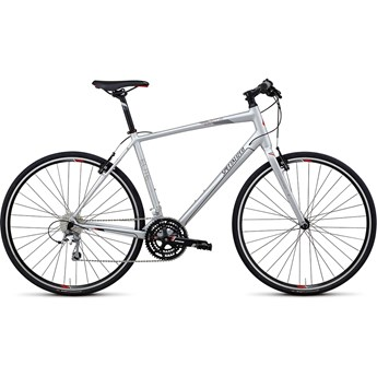 Specialized Sirrus Elite Int Silver/Silver/Röd