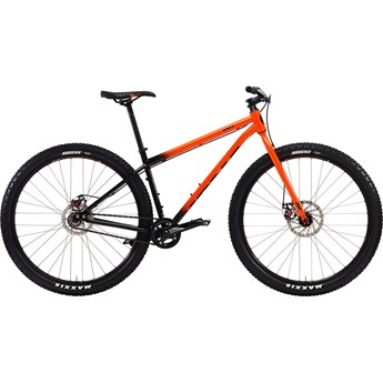 Kona Unit Gloss Orange-Black Fade with Black and Orange Decals
