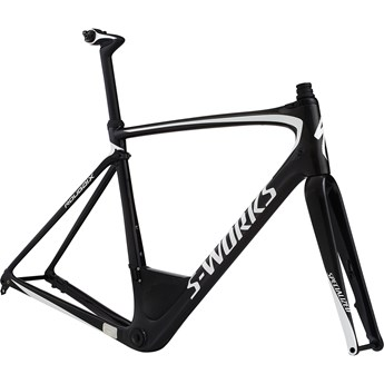 Specialized S-Works Roubaix Frameset Carbon/Metalic White Silver