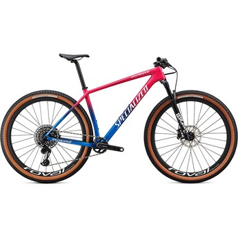 Specialized Epic Hardtail Pro Carbon 29 Gloss Vivid Pink/Pro Blue/Metallic White Silver 2020