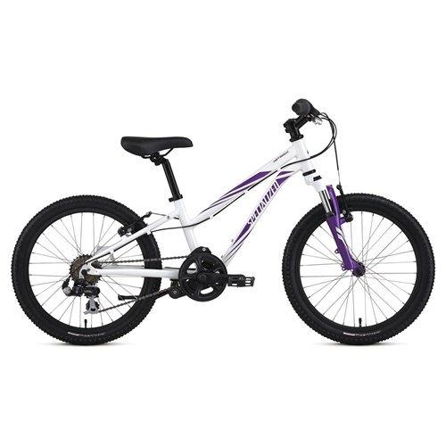 Specialized Hotrock 20 6 Speed Girls Sparkle White/Grape 2016