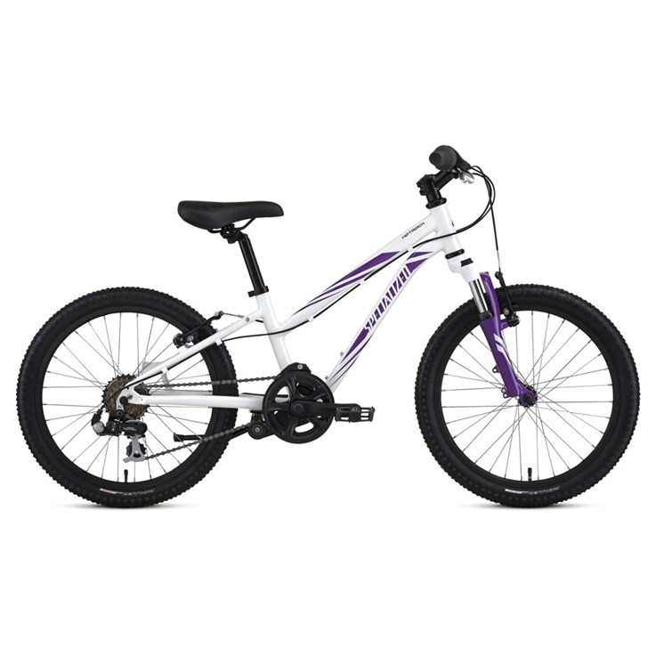 Specialized Hotrock 20 6 Speed Girls Sparkle White/Grape