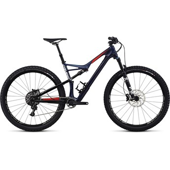 Specialized Camber FSR Expert Carbon 29 Gloss Nibali Blue/Nordic Red/Metallic White