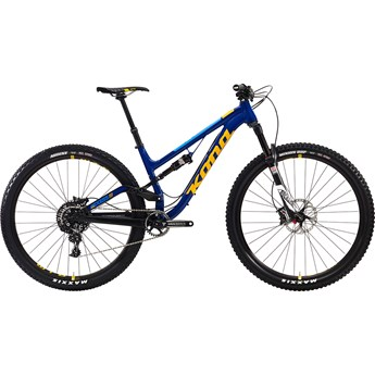 Kona 111 Process Deluxe Matt Navy and Black with Gloss Yellow and Blue Decals