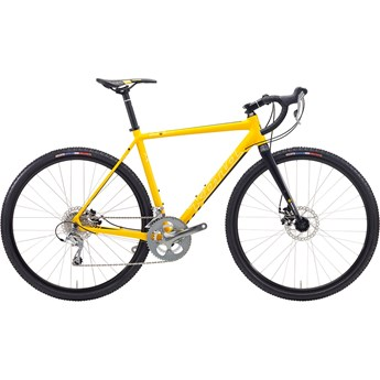 Kona Jake White/Black On Matt Yellow