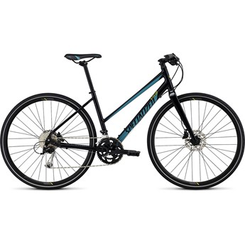 Specialized Vita Sport Step Through Gloss Blue/Turquoise/Hyper