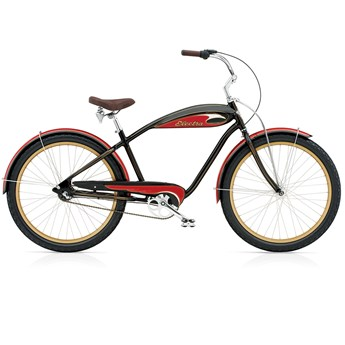 Electra Mulholland 3i Black/Red Herr