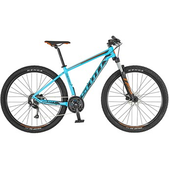 Scott Aspect 750 Light Blue/Red