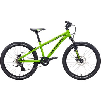 Kona Shred 2-4 Black On Matt Lime