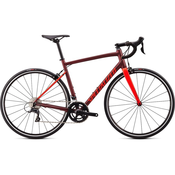Specialized Allez E5 Sport Satin/Gloss Crimson/Rocket Red