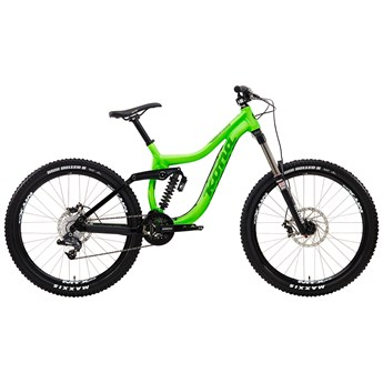 Kona Entourage Matt Fluoro Green with Black