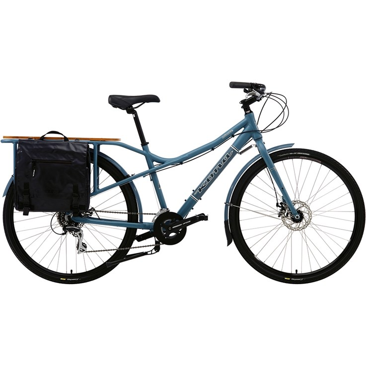 Kona MinUte Matt Blue with Charcoal and Off-White