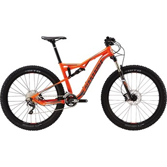 Cannondale Bad Habit 2 Hazard Orange with Fine Silver, Charcoal Grey, Gloss