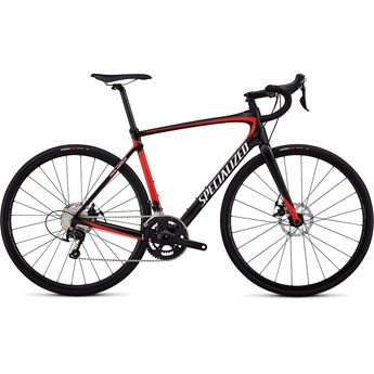 Specialized Roubaix Sport Gloss Carbon/Nordic Red/Metallic White
