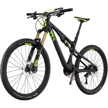 Scott Genius 700 Premium Blanksvart och Grön på Mattsvart