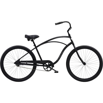 Electra Cruiser 1 Step-Over Matte Black 2020