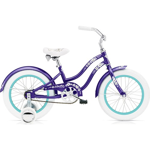 Electra Hawaii 16'' Purple Metallic Flickcykel 2016