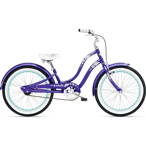 Electra Hawaii 1 20'' Girl's Purple Metallic 2015