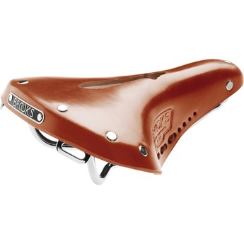 Brooks Sadel I Läder B17 S Std Dam Imperial Honey