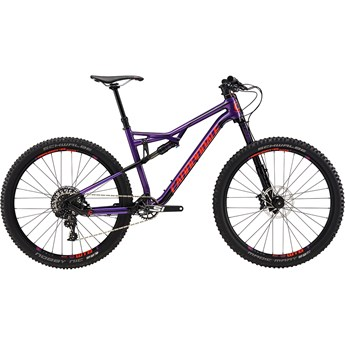 Cannondale Habit Carbon SE Mountain Purple with Jet Black and Acid Red