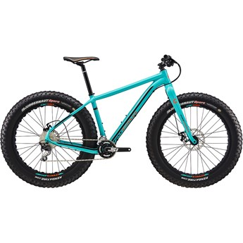 Cannondale Fat CAAD 3 Turquoise with Jet Black, Hazard Orange, Gloss
