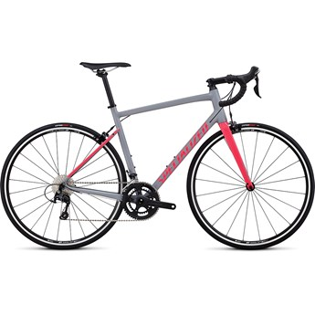 Specialized Allez Elite Satin Cool Gray/Gloss Hot Pink