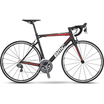 BMC Teammachine SLR02 Ultegra Di2 52x36 Svart, Röd, Orange och Vit 2016