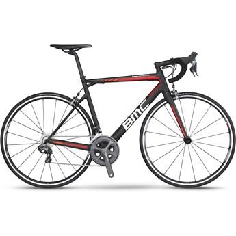 BMC Teammachine SLR02 Ultegra Di2 52x36 Svart, Röd, Orange och Vit 2016