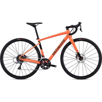 Specialized Diverge Womens E5 Gloss Acid Lava/Black 2019