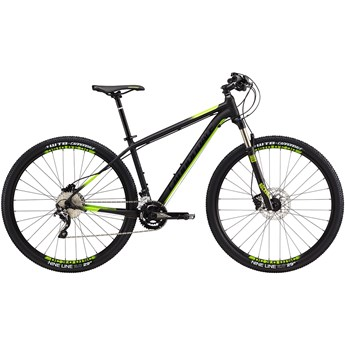 Cannondale Trail 2 Matte Jet Black with Jet Black and Berzerker, Gloss