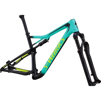 Specialized S-Works Epic Men Carbon 29 Frame Gloss Acid Mint/Cosmic Black/Hyper Green