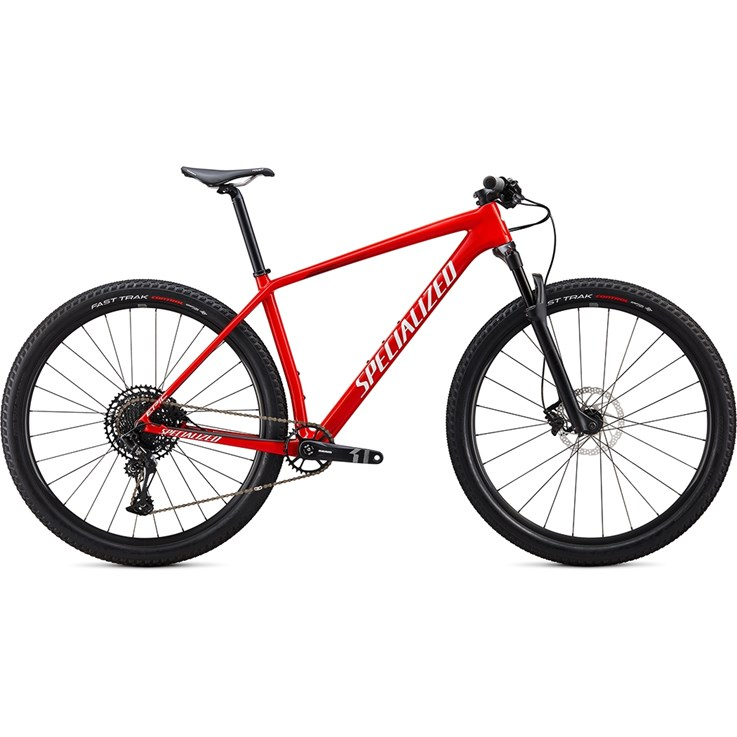 Specialized Epic Hardtail Carbon 29 Gloss Flo Red/Metallic White Silver/Tarmac Black 2020