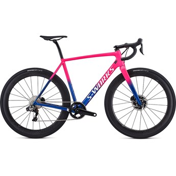 Specialized Crux S-Works Di2 Gloss Acid Pink/Chameleon/Metalic White Silver/Clean 2019