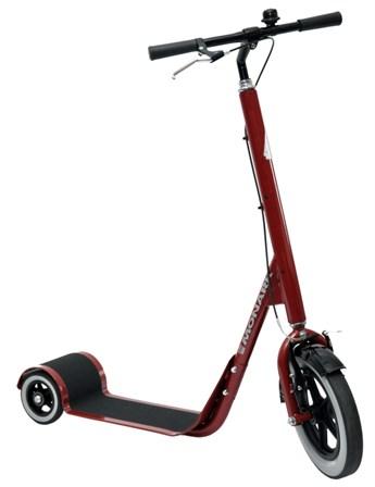Monark Professional 3-hjulig med massiva däck, smal Röd