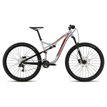 Specialized Stumpjumper FSR Comp 29 Filthy White/Flo Red